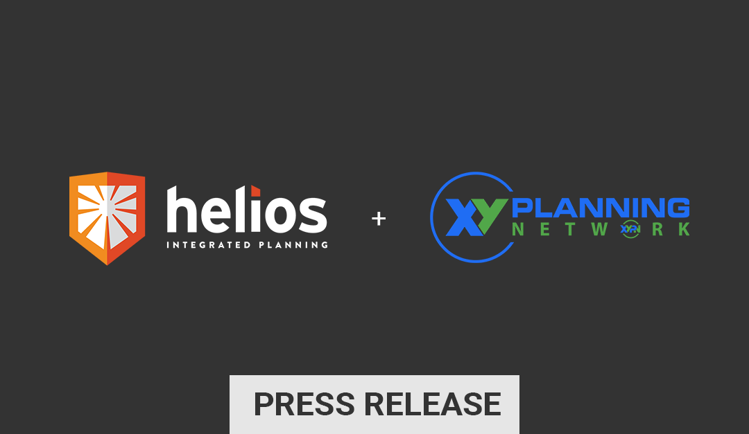 XY Planning Network Partners with Helios Integrated Planning to Offer Its Member Advisors an Estate Planning Solution